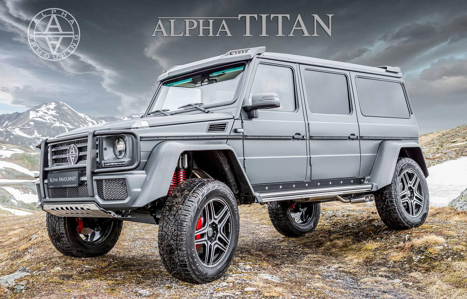 Titan alpha Every Titan