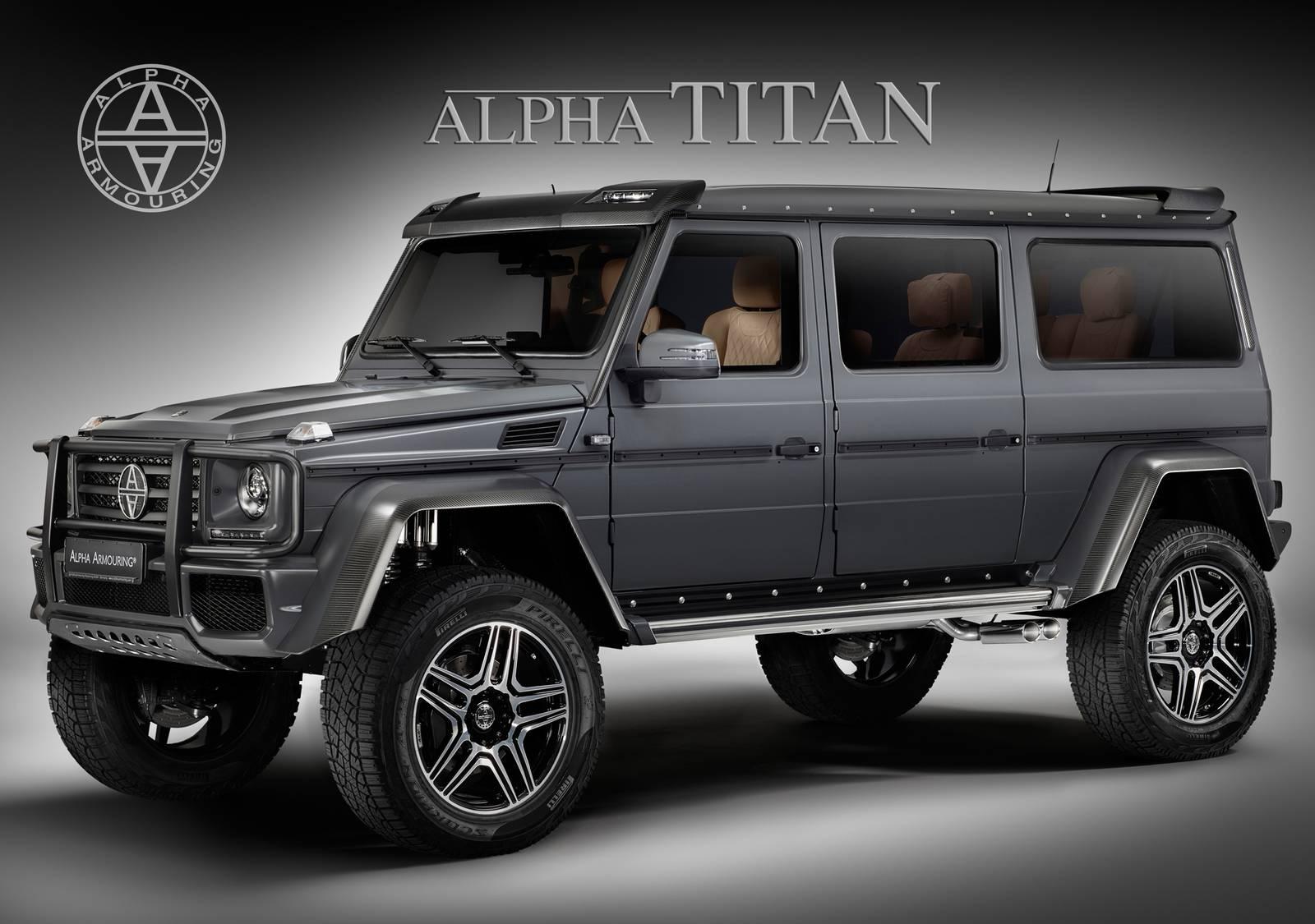 Alpha titan